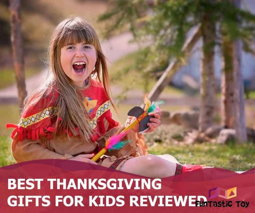 Featured image of cute girl in thanksgiving costume on grass