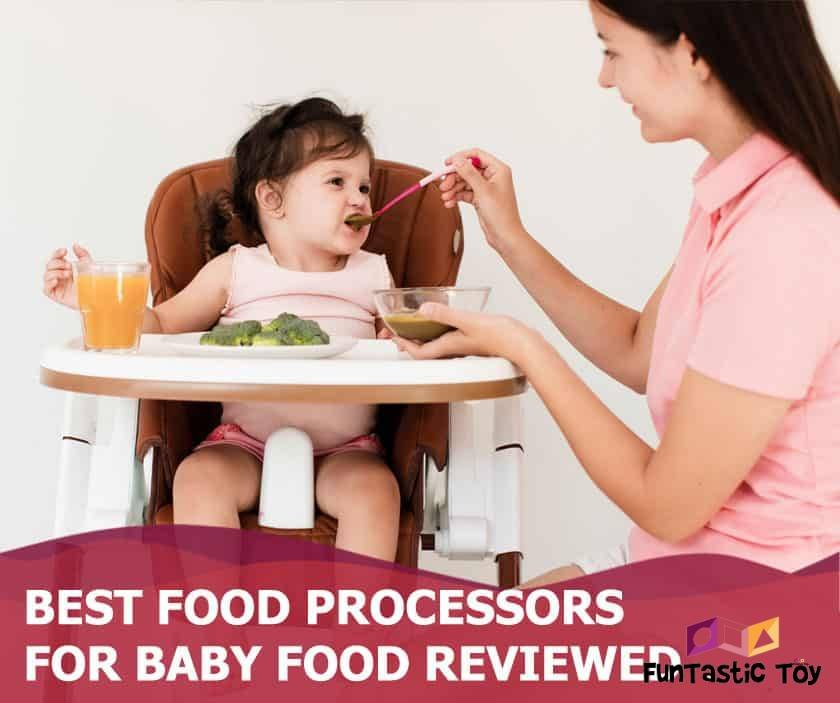 Featured image of mother feeding baby girl in feeder