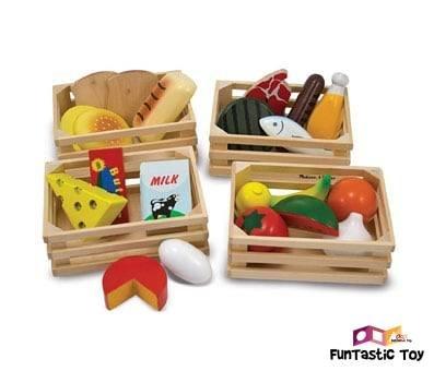 Image of Melissa and Doug Food Groups Set