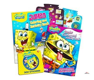 Product image of Coloring and Activity Book Set