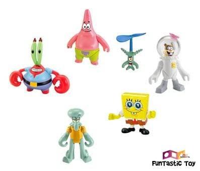 Product image of Fisher-Price Imaginext Spongebob Figure 6 Pack