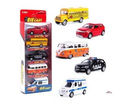 Product image of KIDAMI Die-cast Metal Toy Cars