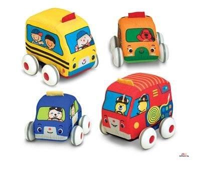 Product image of Melissa & Doug Pull-Back Vehicles