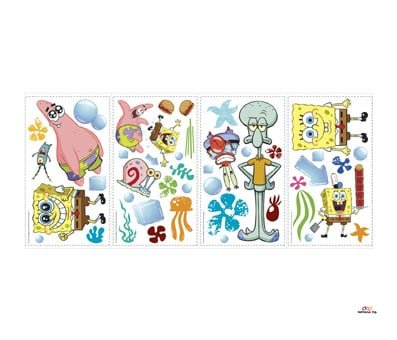 Product image of Spongebob Squarepants Peel and Stick Wall Decals
