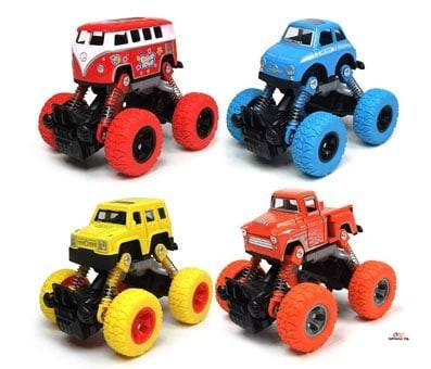 Product image of WisToyz Pull Back Monster Trucks