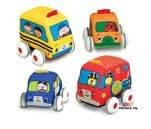 Small Product image of Melissa & Doug Pull-Back Vehicles