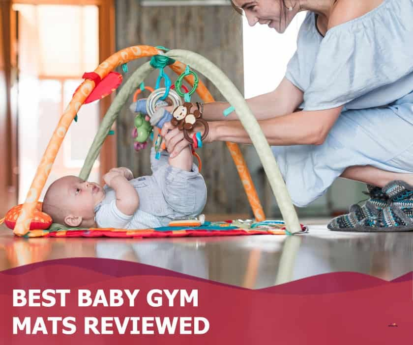 Featured image of mother and baby in gym mat