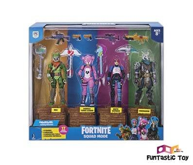 Product image of Fortnite Squad Mode 4 Figure Pack