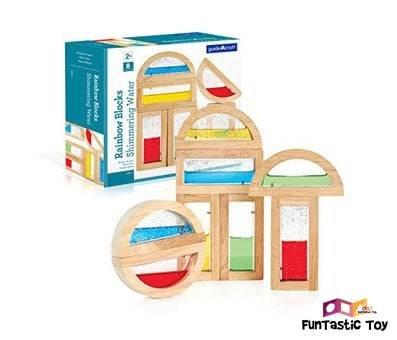 Product image of Guidecraft Rainbow Blocks