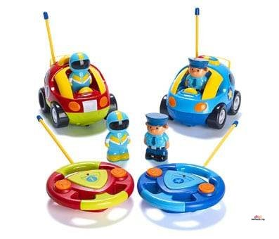 Product image of Prextex Pack - Police Car and Race Car