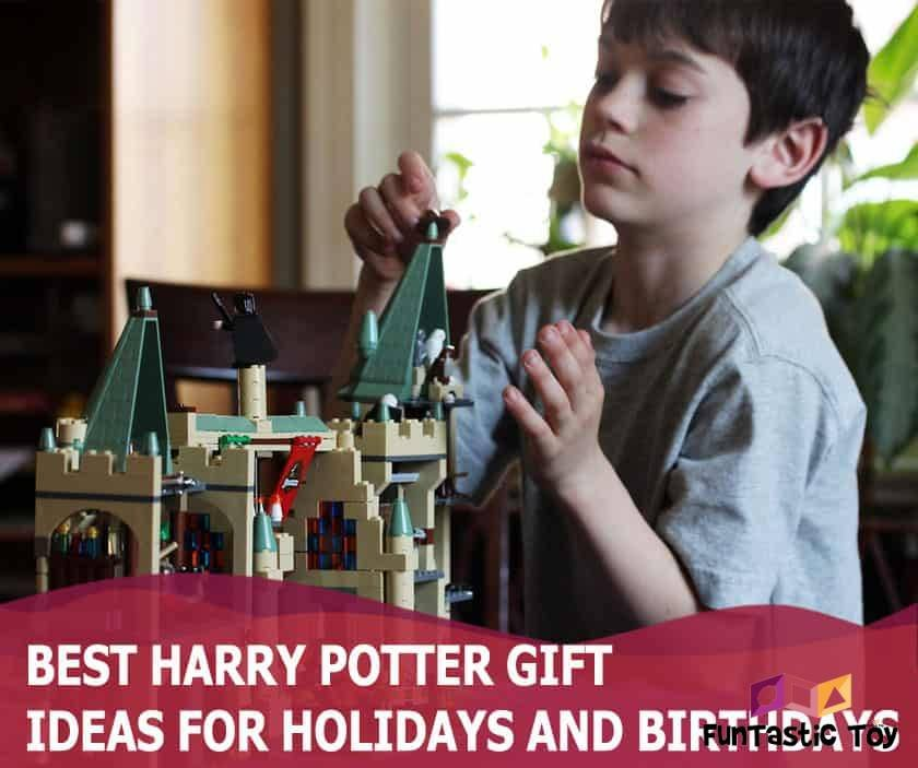 Featured image of boy playing with harry potter lego set