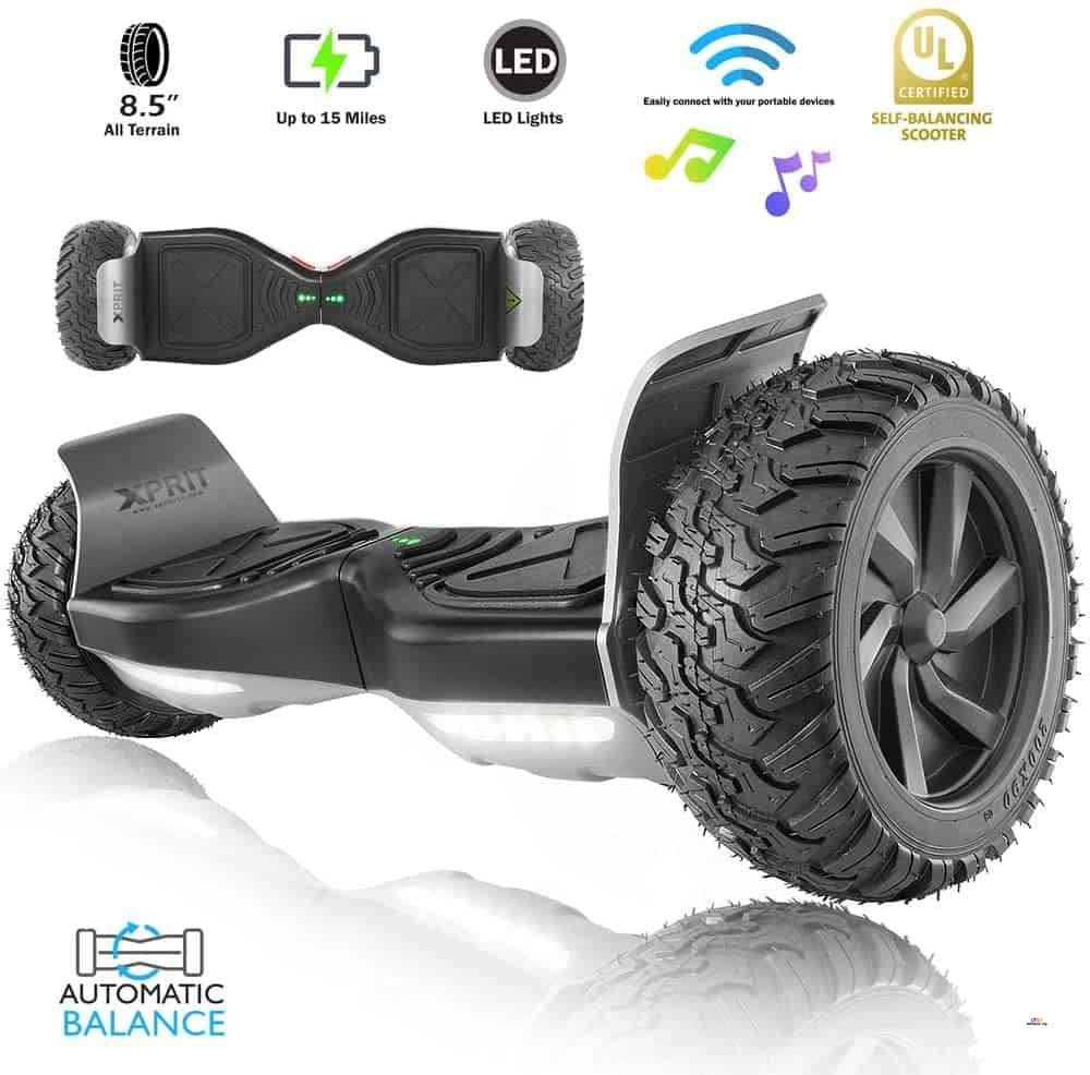 Product image of XPRIT Hoverboard with Bluetooth Speaker