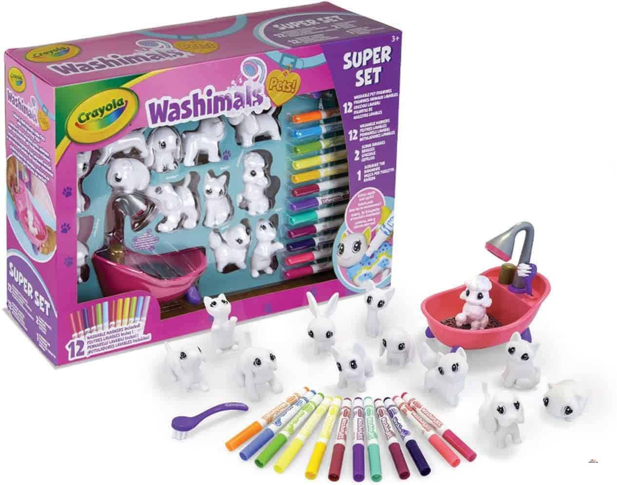 Product image of Crayola Scribble Scrubbie Toy Pet Playset