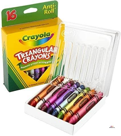 Product image of Crayola My First Washable Tripod Crayons