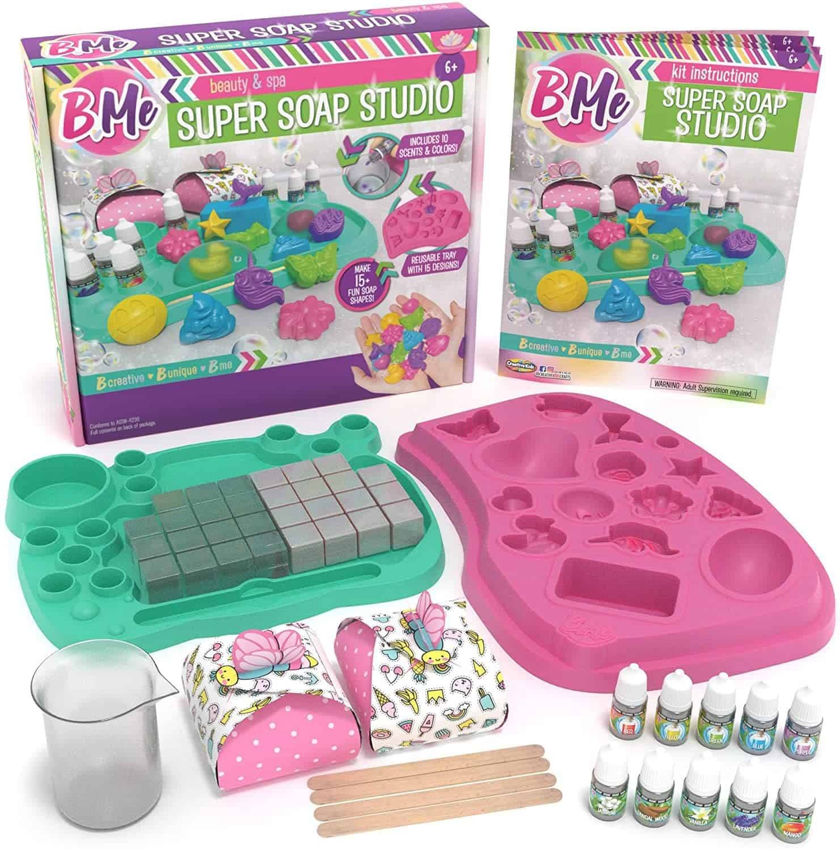 Product image of KISS NATURALS Premium DIY Soap Making Kit For Kids