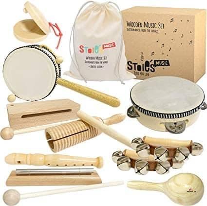 Product image of Kilofly Mini Band Set of 12 Instruments