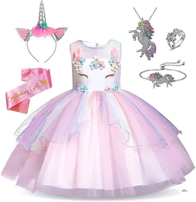 Product image of TTYAOVO Unicorn Princess Dress