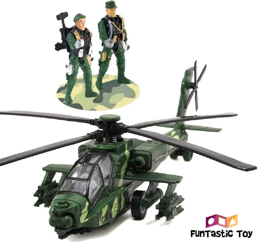 Small product image of World Tech Toys 3.5 Camouflage Hercules RC Helicopter