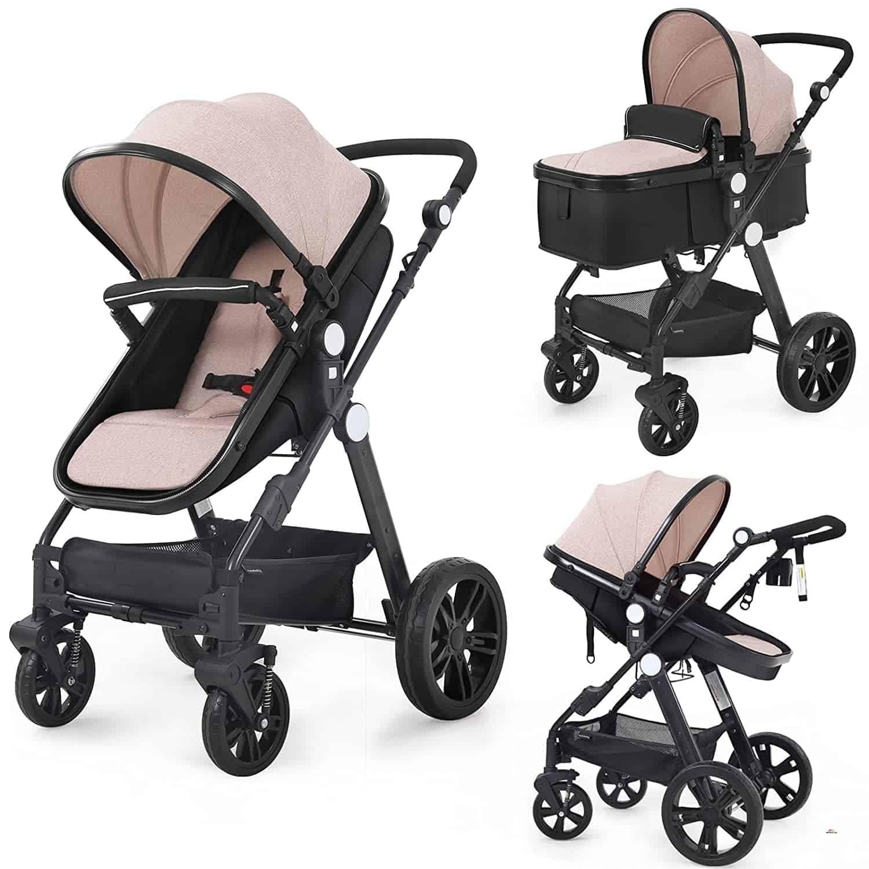 Product image of Baby Stroller Bassinet Pram Carriage Stroller