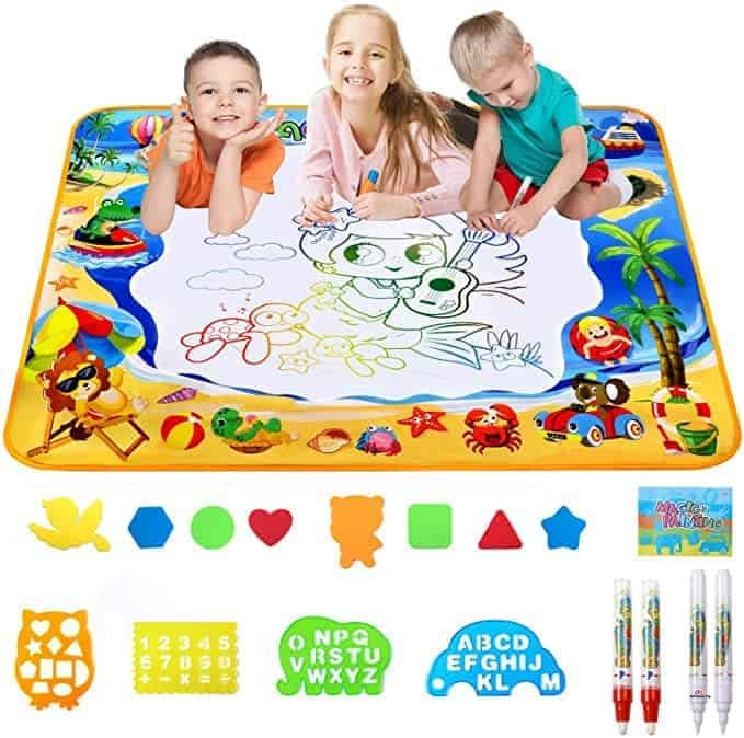 Product image of Meland Large Water Doodle Mat