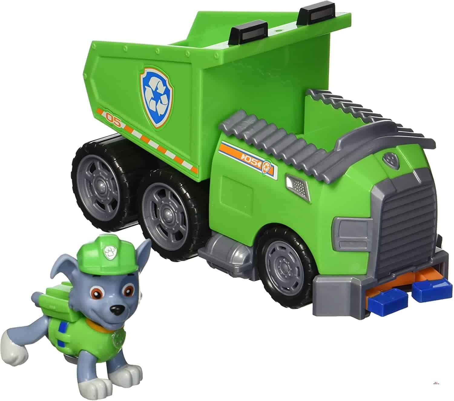 Product image of Paw Patrol Rocky s Recycling Truck