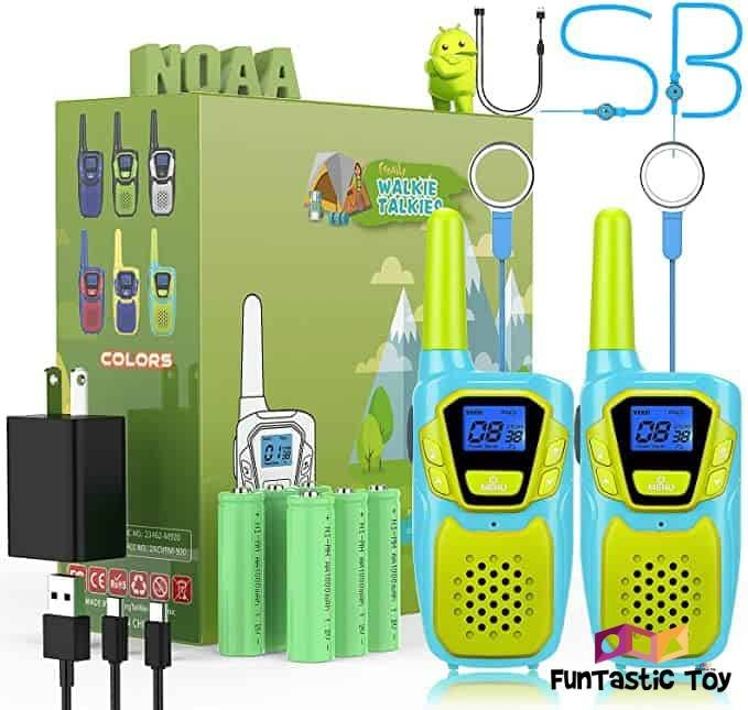 Small Product image of USA Toyz Kids Walkie Talkies with Binoculars