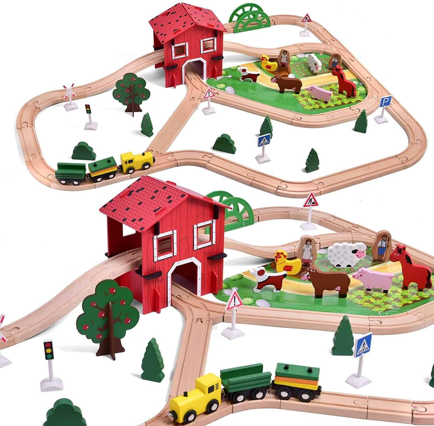 Small Product image of Toddler Train Set Toys by FUN LITTLE TOYS