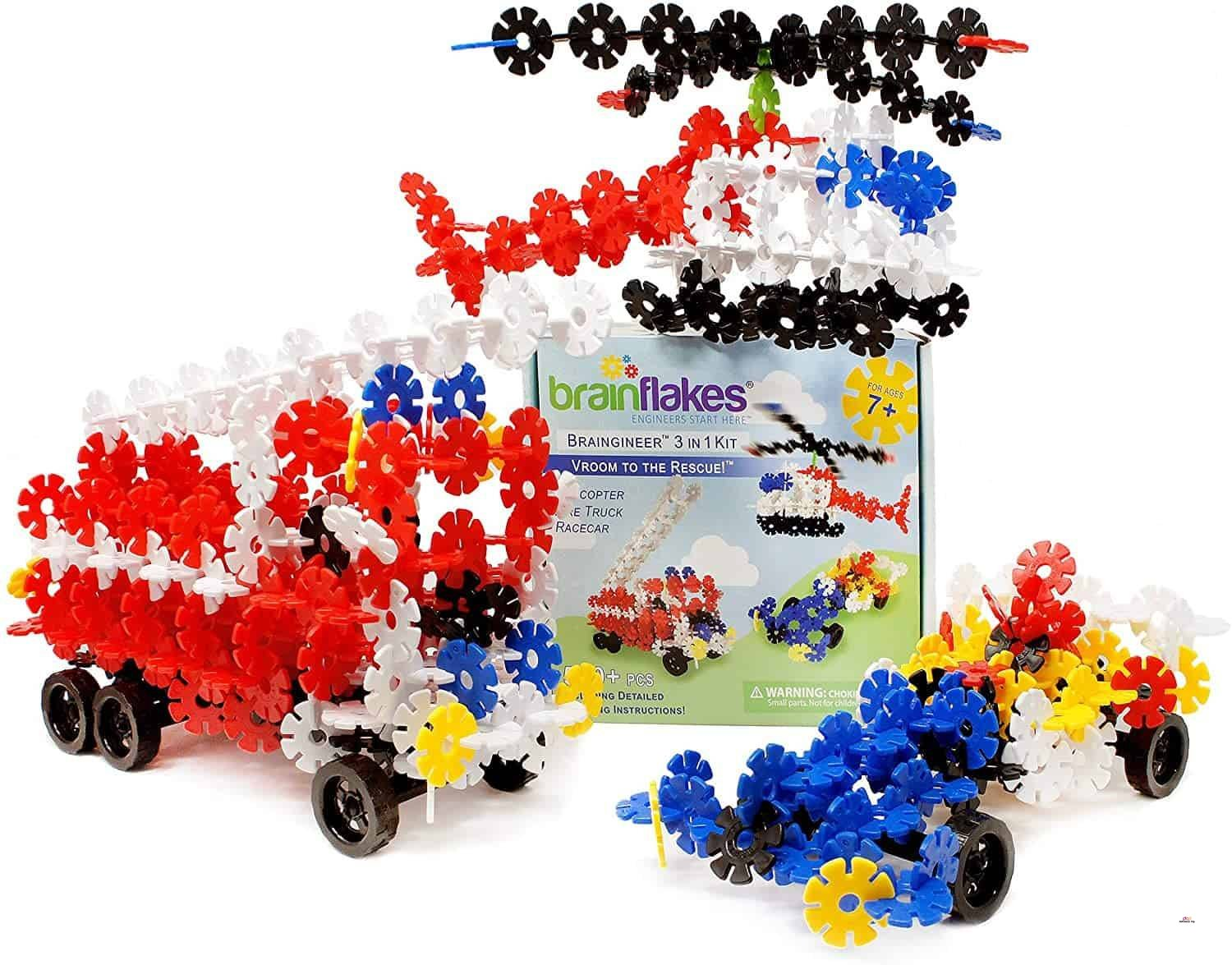 Product image of VIAHART Brain Flakes set colorful