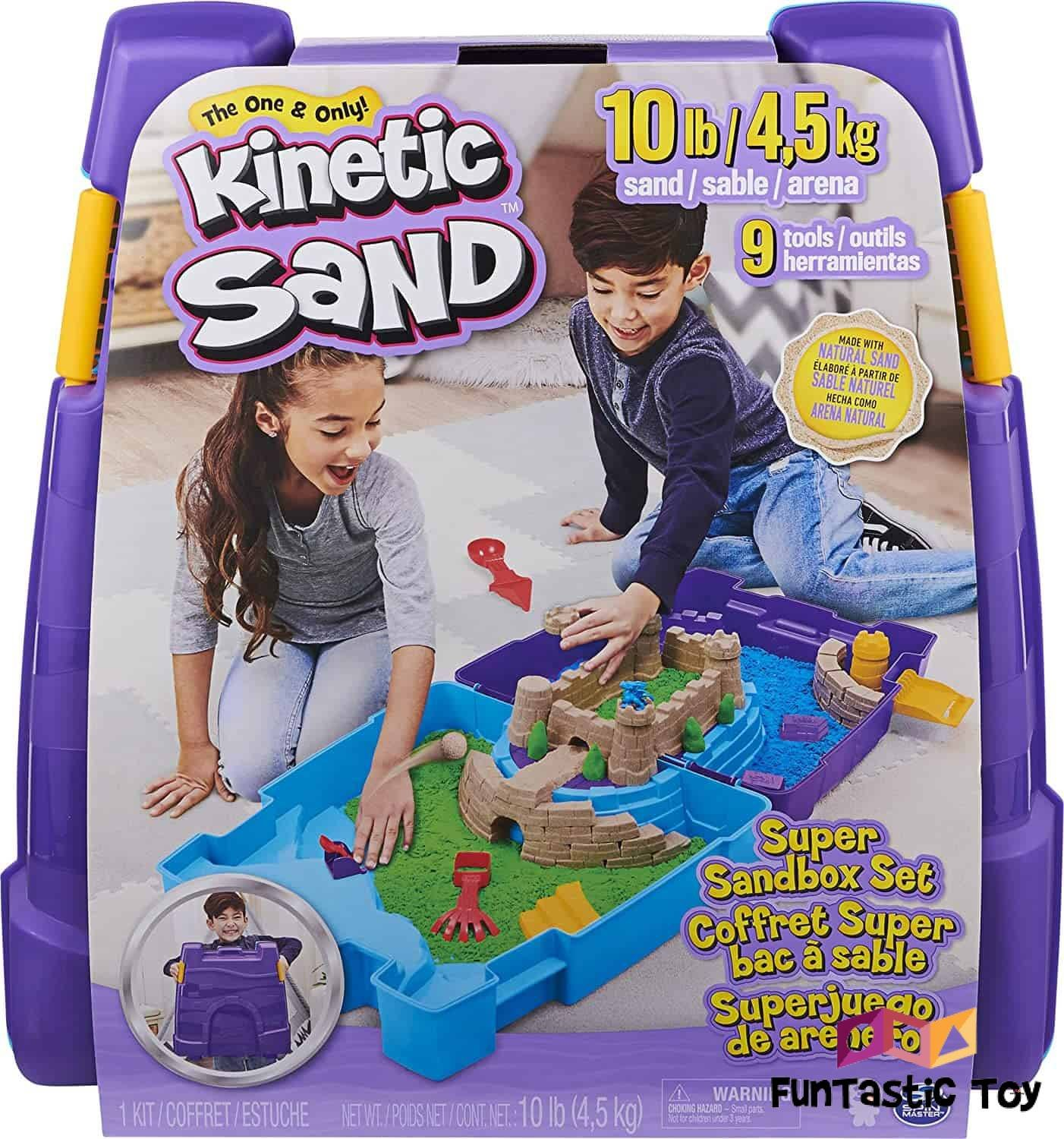 Product image of Kinetic Sand - Squeezable Play Sand