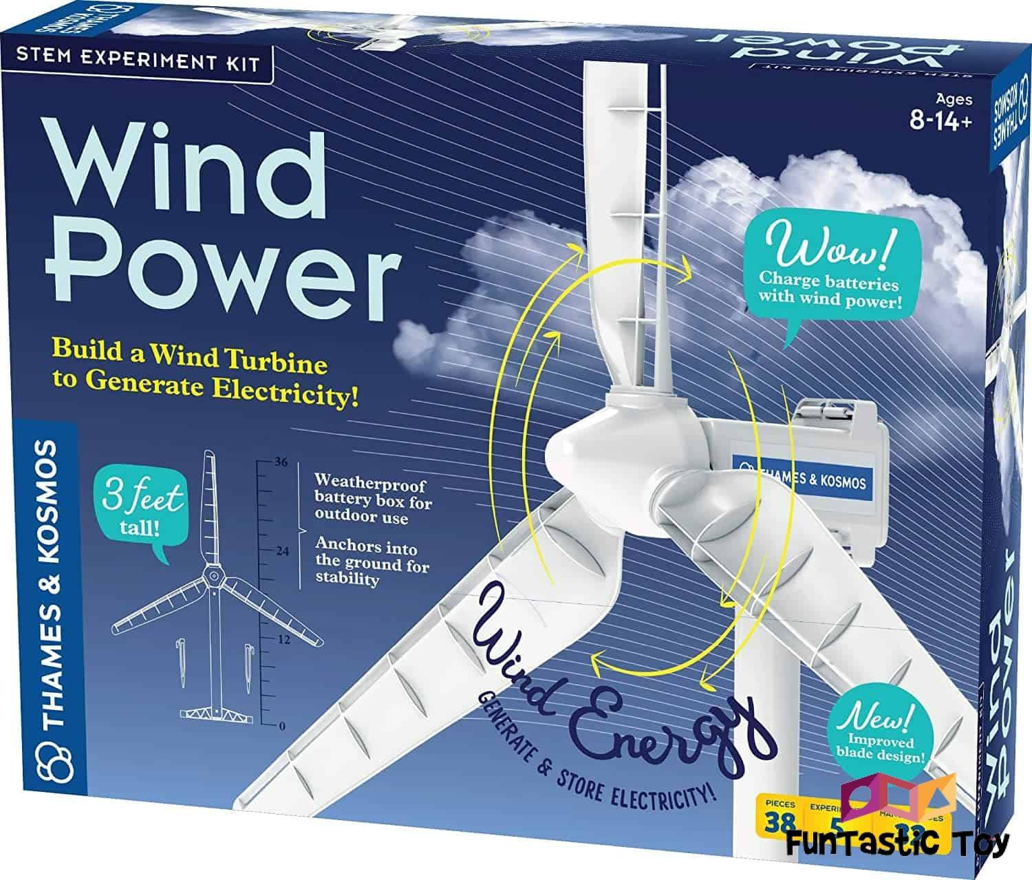 Small product image of Thames & Kosmos Wind Power Science Kit